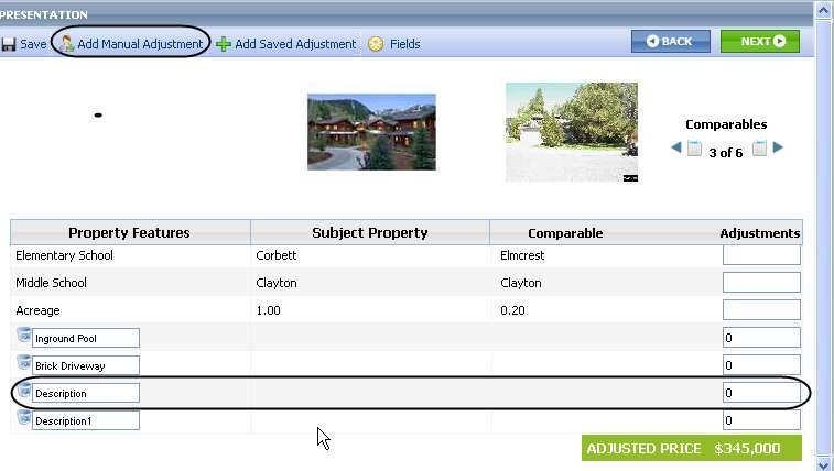 Cma  Comparative Market Analysis  Step  Adjustments  Ccar