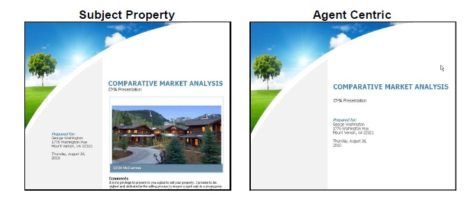 Cma – Comparative Market Analysis – Step 5 Presentation Setup – Ccar